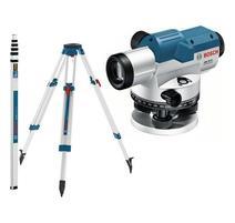 Bosch GOL 32 G Professional Optický nivelačný prístroj + GR 500 lata + BT 160 statív + sada vysielačiek Motorola 06159940AY