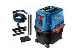 Bosch GAS 15 Professional Vysávač na mokro-sucho, poloautomatický oklep 1 100 W 06019E5000