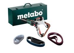 Metabo RBE 15-180 Set Pásová brúska na rúry so skrinkou, 602243500