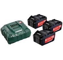 Metabo Set akumulátorov s nabíjačkou 18V 3x5.2Ah, 685048000