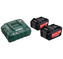 Metabo Set akumulátorov s nabíjačkou 18V 3x4.0Ah, 685049000
