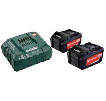 Metabo Set akumulátorov s nabíjačkou 18V 2x4.0Ah, 685050000