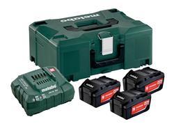 Metabo Set akumulátorov s nabíjačkou 18V 3x5.2Ah ASC ULTRA, 685061000