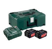 Metabo Set akumulátorov s nabíjačkou 18V 3x4.0Ah + Metaloc, 685063000