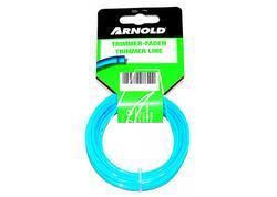 Arnold struna (čtvercový průřez) do vyžínače 15m/1,6 mm