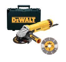 DeWALT DWE4217KD Uhlová brúska 125mm s diamantovým kotúčom