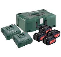 Metabo Basis Set akumulátor s nabíjačkou 18V 1x LiHD 3.5h + MetaLoc, 685103000