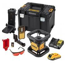 DeWALT DCK374D1R R Súprava rotačného lasera 18V v kufríku + príslušenstvo