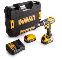 DeWALT DCD796P2 Aku bezuhlíkový vŕtačka s príklepom 18V XR 2x5,0 Ah
