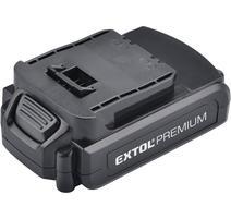 Extol Premium Akumulátor 18V/1,5Ah, Li-ion, pre 8891114 8891114B