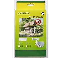 Strend Pro FlyScreen3 Sieť proti hmyzu hnedá PE 150x130 cm