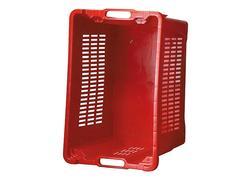 Strend Pro ICS M401000 Prepravka červená perforované steny 40 lit, 56x35x31 cm