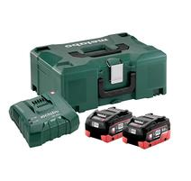 Metabo BASIS-SET 2 X LIHD 8.0 AH+ ASC Ultra + Metaloc 685131000