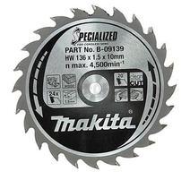 Makita B-09139 Pílový kotúč Ø136 x10mm, 24Z