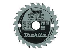 Makita B-29452 Pílový kotúč Ø165 x 20mm, 52Z