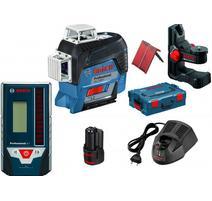 Bosch GLL 3-80 C Professional Krížový laser + LR7 prijímač v L-BOXX 0601063R05