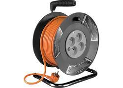 Strend Pro DG-4ZR-FB04 Kábel predlžovací na bubne 25 m 213053