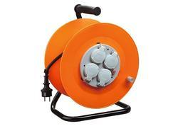 Strend Pro CR038 Predlžovací kábel na bubne 4 zásuvky, L-20 m
