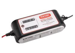 Extol Premium Autonabíjačka inteligentná 12V, 8A, 9 stupňový proces nabíjania 8897301