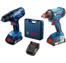 Bosch Professional GDX 180-LI Aku rázový uťahovák 18V + GSR 180-LI Aku vŕtací skrutkovač 18V 06019G5222
