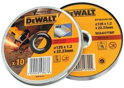 DeWALT DT42340TZ Sada 10ks rezných kotúčov 125mm