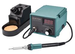 Extol Industrial Spájkovacia stanica s LCD a elektronickou reguláciou teploty a kalibráciou 8794520