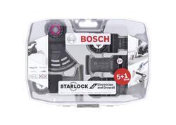 Bosch 2608664622 6-dielna sada pre oscilačné náradie