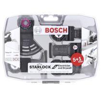 Bosch 2608664622 6-dielna sada pre oscilačné náradie, elektrikári a sádrokartonári