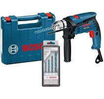 Bosch GSB 13 RE Professional Príklepová vŕtačka 600 W v kufríku + 4 ks vrtákov 0601217103