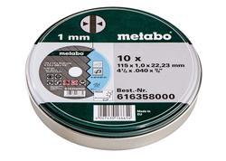 Metabo TF 41 10 Rezných kotúčov 115X1,0X22,23 INOX