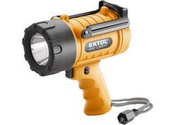 Extol Light Svietidlo 5W CREE LED, 300lm, max. dosvit 400m, IP67, 4xAA 43113