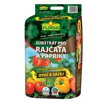 """Floria Substrát na paradajky a papriky """"Otoč a saď"""""""