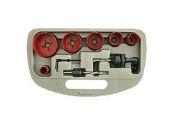 Strend Pro BHS 9055 Sada vyrezávačov do kovu, vykružováky Bi-METAL 9 dielna, TCT