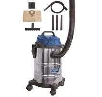 Scheppach ASP 15 ES Priemyselný vysávač pre suché/mokré vysávanie 15L