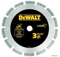 DeWALT DT3761 Diamantový kotúč Laser 3 na tvrdé materiály, žulu, vystužený betón 125x22,2mm