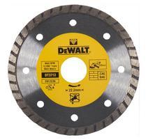DeWALT DT3712 Diamantový kotúč Turbo profi zo spekaných karbidov na suché rezanie 125x22,2mm