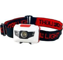 Extol Light Čelovka 1W + 2LED, 4 režimy svietenia, max. dosvit 15m 43102