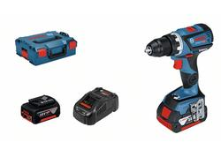 Bosch GSR 18V-60 C Professional Aku vŕtací skrutkovač 18V 2x5,0 Ah 06019G1100