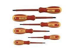Strend Pro SD0104 Elektrikárska sada skrutkovačov 6 dielna, 1000 V