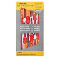 Strend Pro SD0118 Elektrikárska sada skrutkovačov 6 dielna, VDE, Cr-V