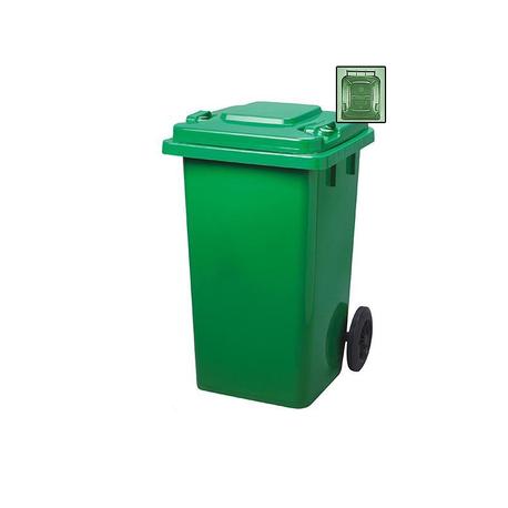 Strend Pro GB4 Nádoba na odpad zelená 240 lit