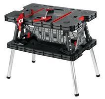 Keter 17182239 Pracovný skladací stôl 85x55x75.5 cm max. 453 kg