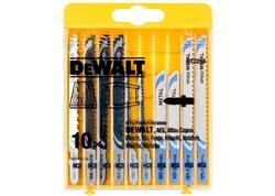 DeWALT DT2292 10-dielna sada pílových plátkov do kovu