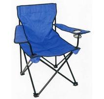 Strend Pro BC2012B Skladacia stolička modrá 53x53x90 cm, 120 kg