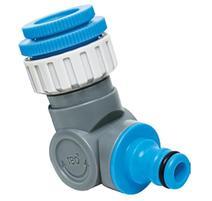 """Aquacraft 550342 Kĺbový adaptér na hadicu samec 1/2""""-3/4""""-1"""", 360, 180"""