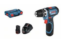 Bosch GSB 18-2-LI Plus Professional Aku príklepový skrutkovač 18 V, 2 x 2,0 Ah, kufor 06019E7120