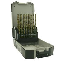 Strend Pro Premium M2 DIN-338 HSS Sada vrtákov do kovu 1-10 mm 19 diena
