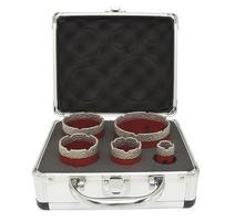 Strend Pro Premium DCB11S Sada vyrezávačov diamant 20-35-45-55-72 mm
