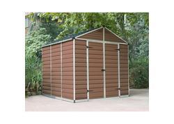 Palram Skylight 8x8 hnedý záhradný domček