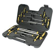 Strend Pro YF70019 Sada skrutkovačov v kufri Hex, držiak T, Cr-V, Imbus 10 dielna
